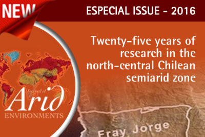 Journal of Arid Environments - Special Issues - Deserts of the World